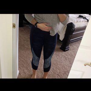 lululemon athletica Pants - Lululemon• Blue Camo 7/8 Leggings